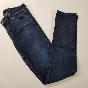 AG The Stevie Slim Straight Dark Wash Jeans